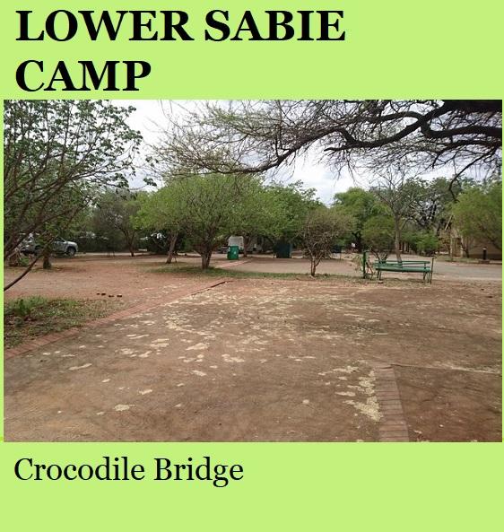 Lower Sabie Rest Camp - Kruger National Park