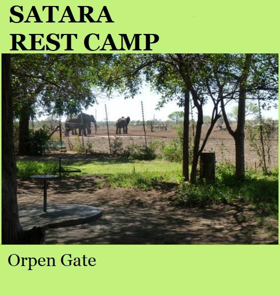 Satara Rest Camp - Kruger National Park