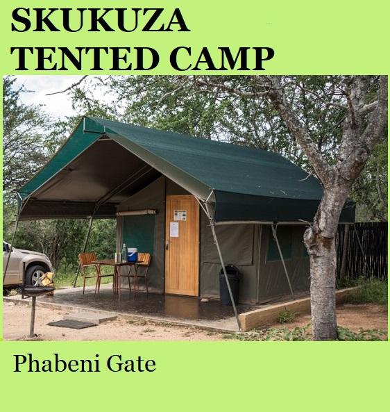 Skukuza Tented Camp - Kruger National Park