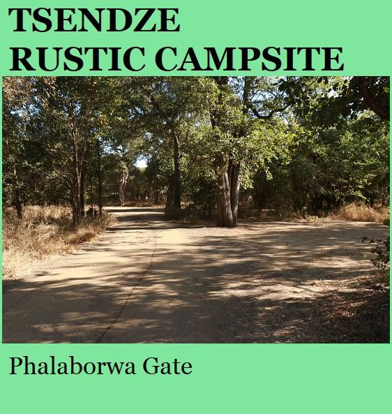 Tsendze Rustic Campsite - Kruger National Park