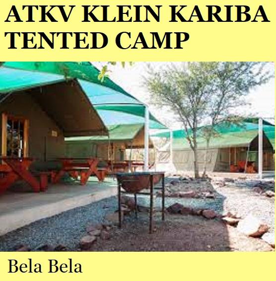 ATKV Klein Kariba Tented Camp - Bela Bela