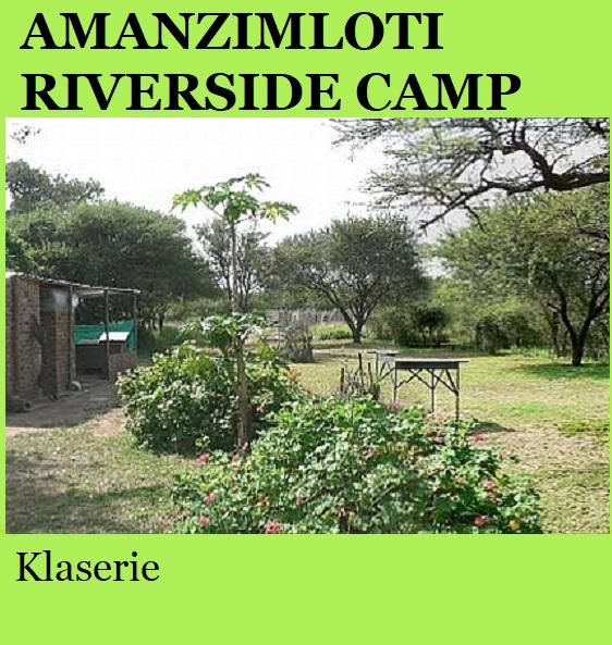 Amanzimloti Riverside Camp - Klaserie