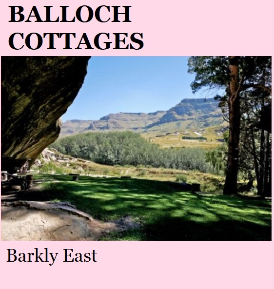 Balloch Cottages - Barkly East