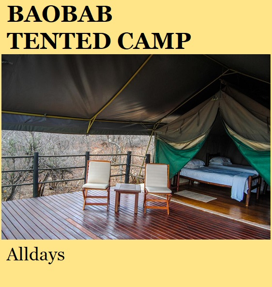 Baobab Tented Camp - Alldays