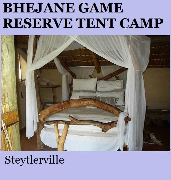 Bhejane Game Reserve Tented Camp - Steytlerville
