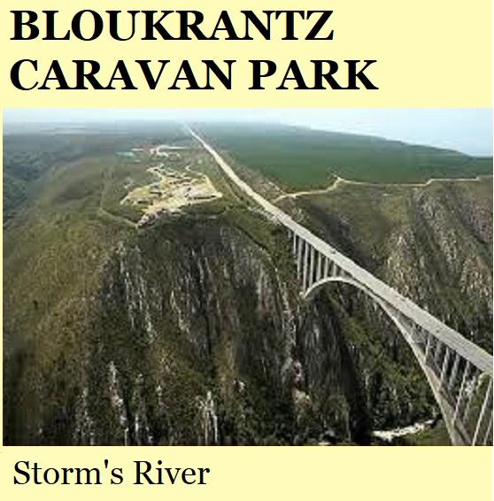 Bloukrantz Caravan Park - Storm's River