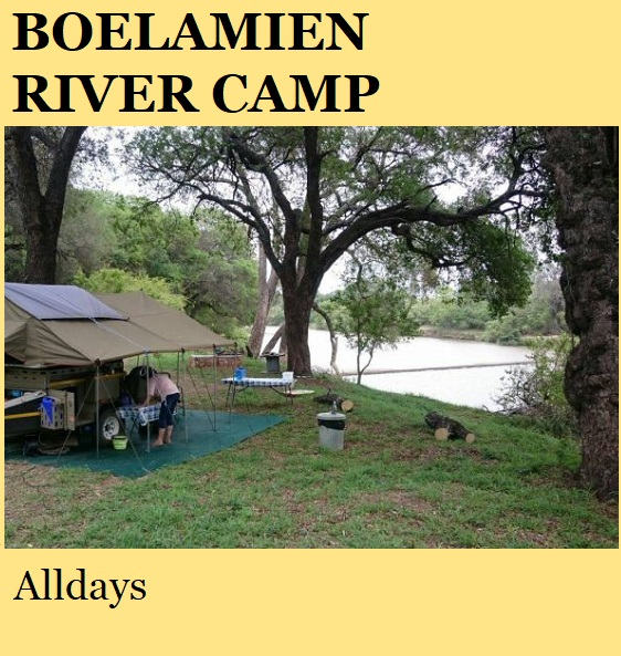 Boelamien River Camp - Alldays