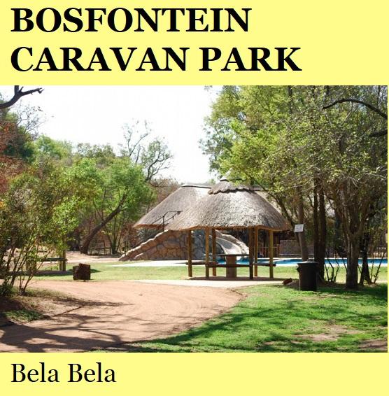 Bosfontein Caravan Park - Bela Bela