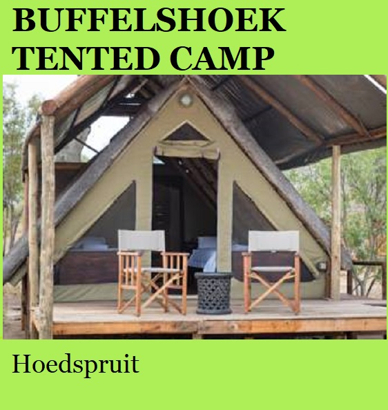 Buffelshoek Tented Camp - Hoedspruit