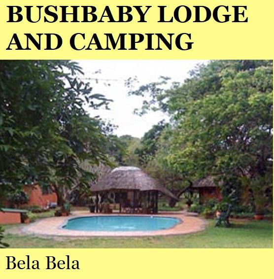 Bushbaby Lodge and Camping - Bela Bela