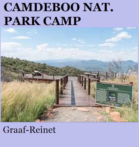 Camdeboo National Park Camp - Graaff Reinet