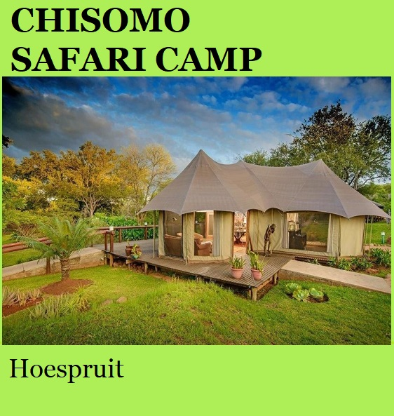 Chisomo Safari Camp - Hoedspruit