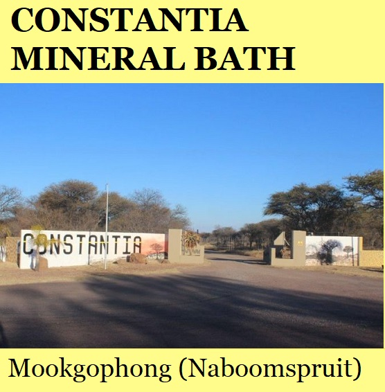 Constantia Mineral Bath - Mookgophong (Naboomspruit)