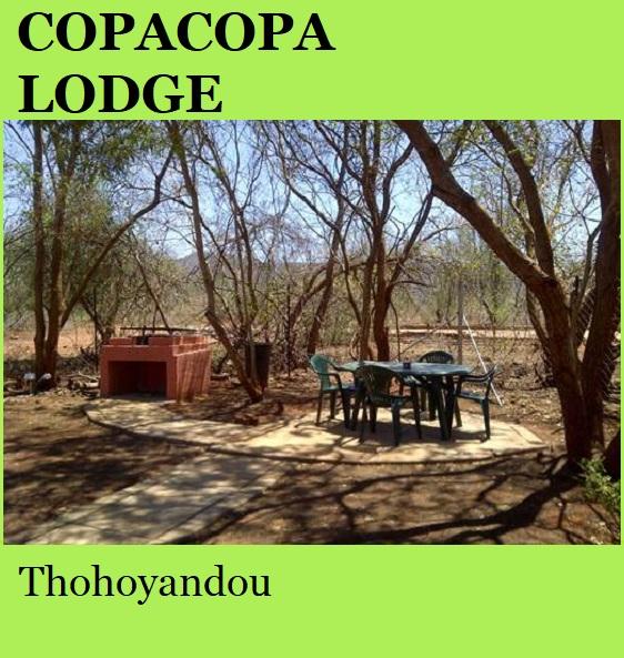 Copacopa Lodge - Thohoyandou