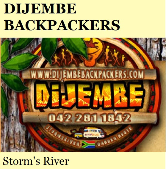 Dijembe Backpackers - Storm's River