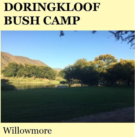 Doringkloof Bush Camp - Willowmore