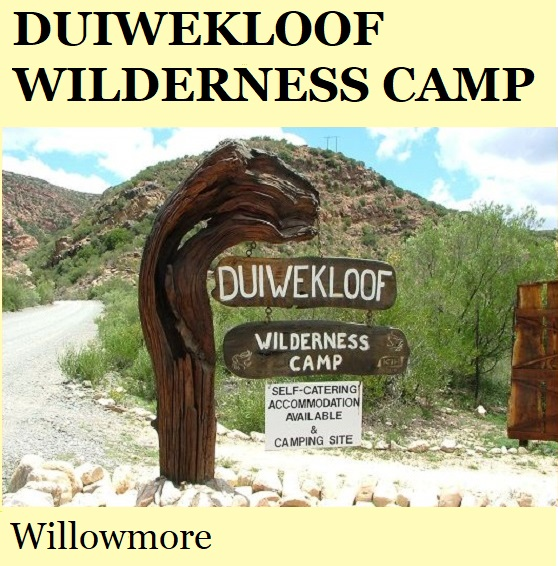 Duiwekloof Wilderness Camp - Willowmore