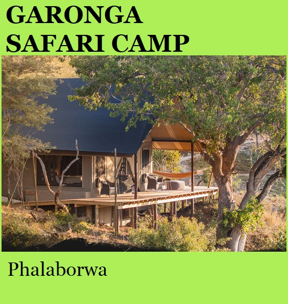 Garonga Safari Camp - Phalaborwa