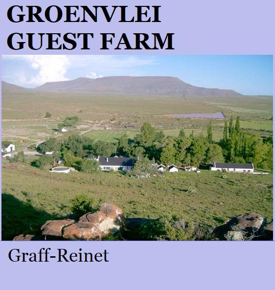 Groenvlei Guest Farm - Graaff Reinet