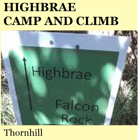 Highbrae Camp and Climb - Thornhill