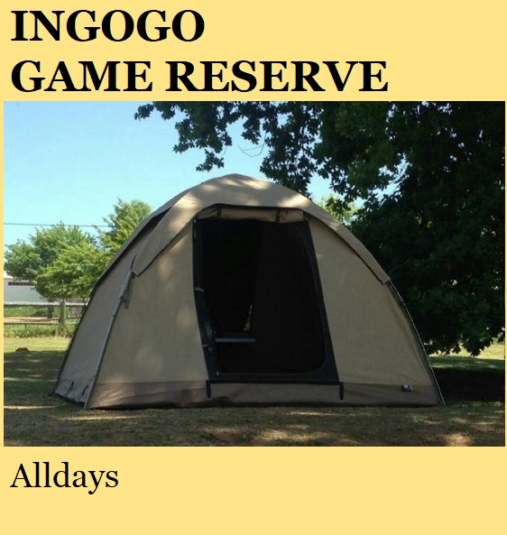 Ingogo Game Reserve - Alldays
