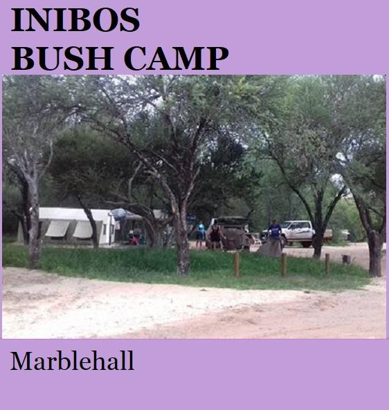 Inibos Bush Camp - Marblehall