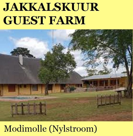 Jakkalskuur Guest Farm - Modimolle (Nylstroom)