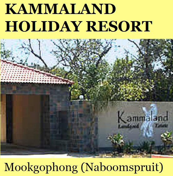 Kammaland Holiday Resort - Mookgophong (Naboomspruit)