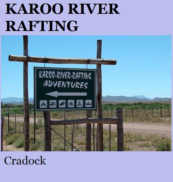 Karoo River Rafting - Cradock -