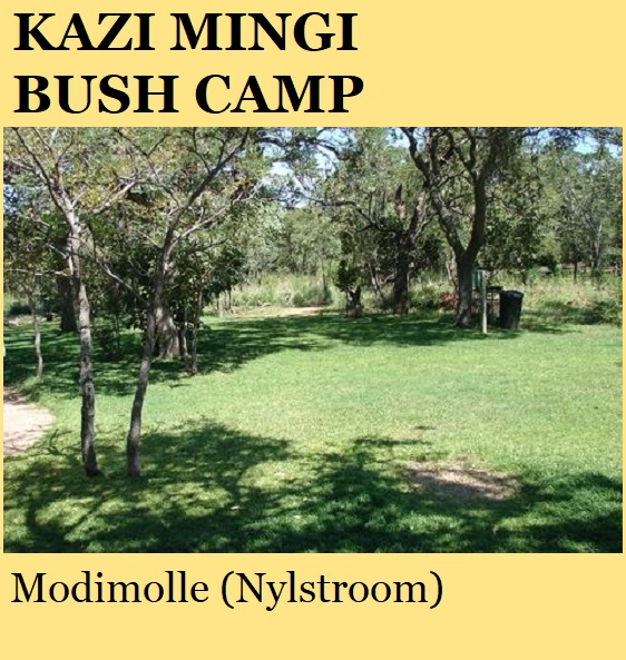 Kazi Mingi Bush Camp - Modimolle (Nylstroom)