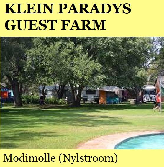 Klein Paradys Guest Farm - Modimolle (Nylstroom)