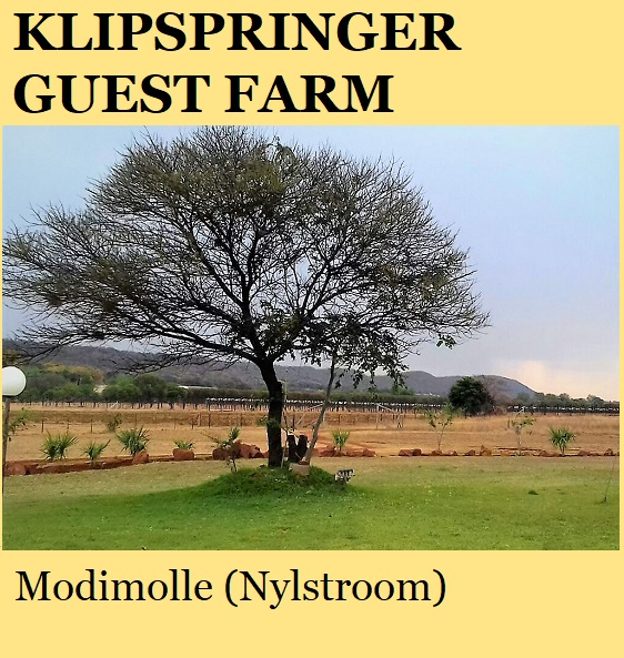 Klipspringer Guest Farm - Modimolle (Nylstroom)
