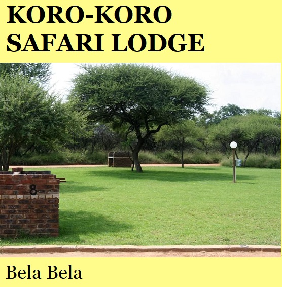 Koro Koro Safari Lodge - Bela Bela