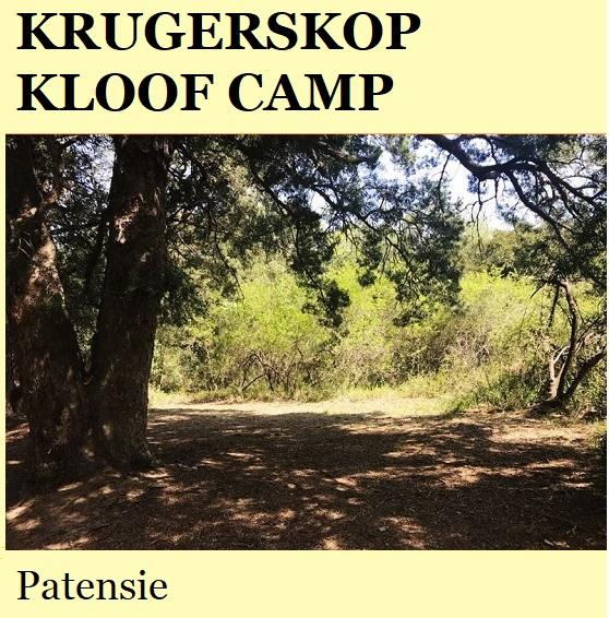 Krugerskop Kloof Camp - Patensie