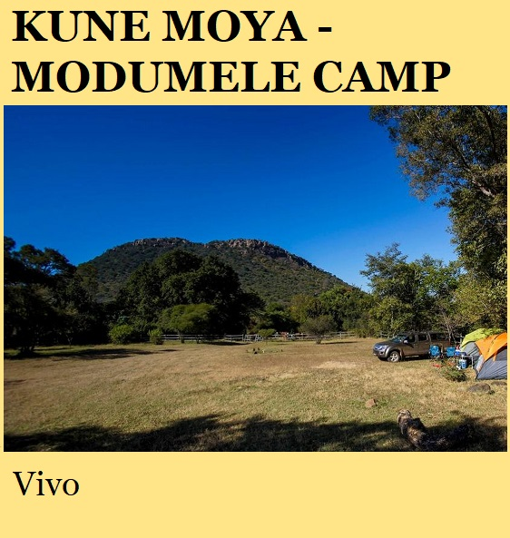 Kune Moya Modumele Wilderness Camp - Vivo