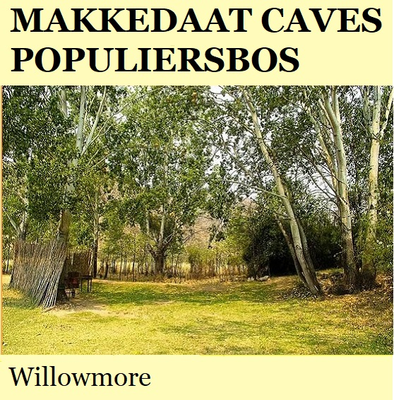 Makkedaat Cave Populiersbos Camp - Willowmore