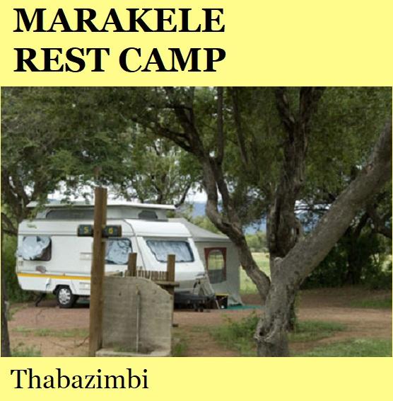 Marakele Rest Camp - Thabazimbi
