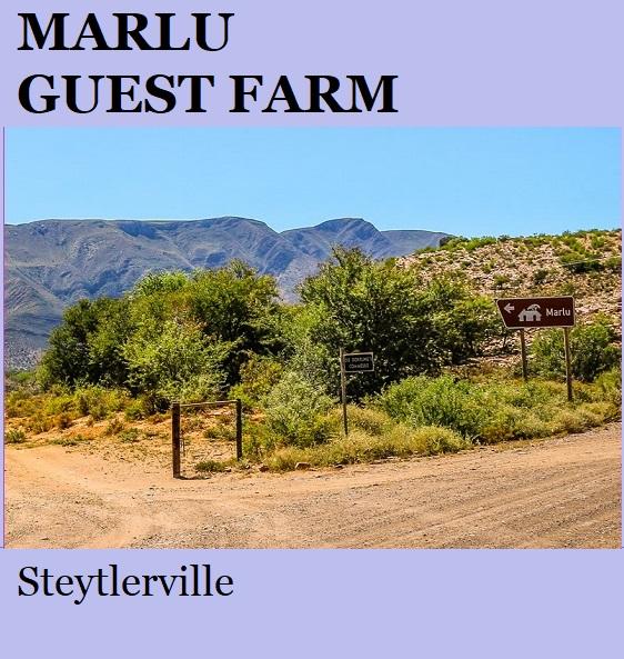 Marlu Guest Farm - Steytlerville
