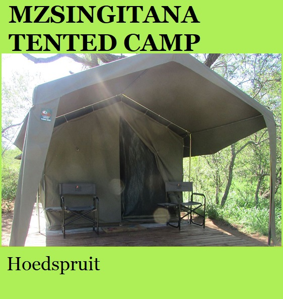 Mzsingitana Tented Camp - Hoedspruit