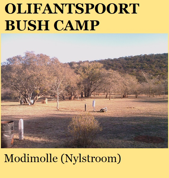 Olifantspoort Bush Camp - Modimolle (Nylstroom)