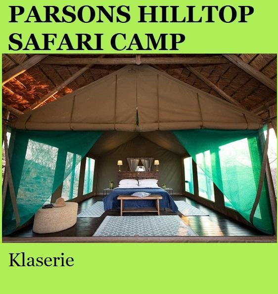 Parsons Hilltop Safari Camp - Klaserie
