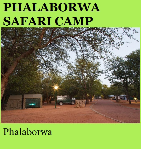 Phalaborwa Safari Camp - Phalaborwa
