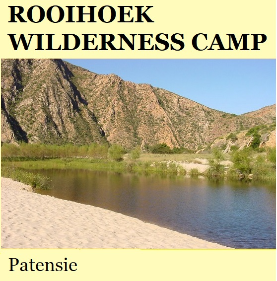 Rooihoek Wilderness Camp - Patensie
