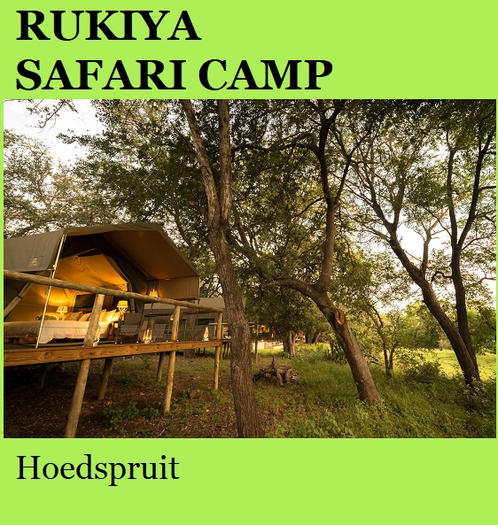 Rukiya Safari Lodge - Hoedspruit