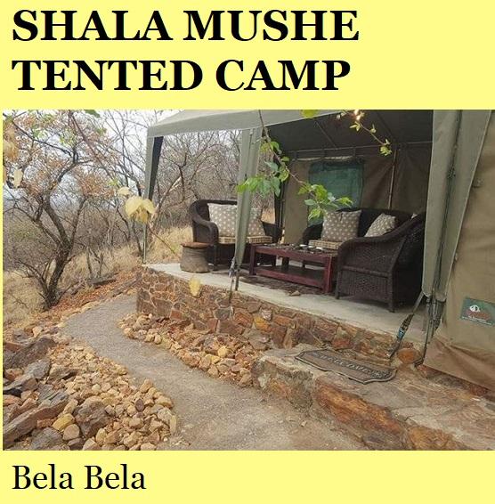 Shala Mushe Tented Camp - Bela Bela