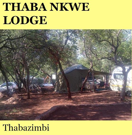 Thaba Nkwe Lodge - Thabazimbi