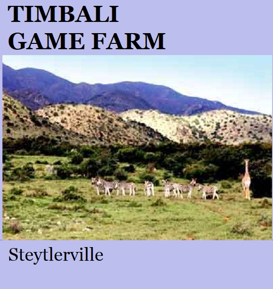 Timbali Game Farm - Steytlerville