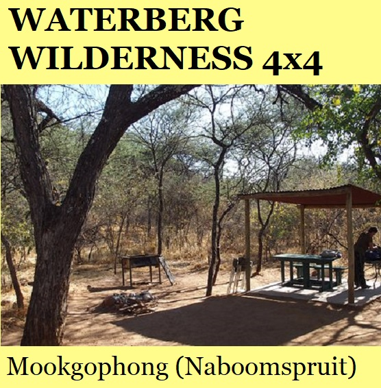 Waterberg Wilderness 4x4 Camp - Mookgophong (Naboomspruit)