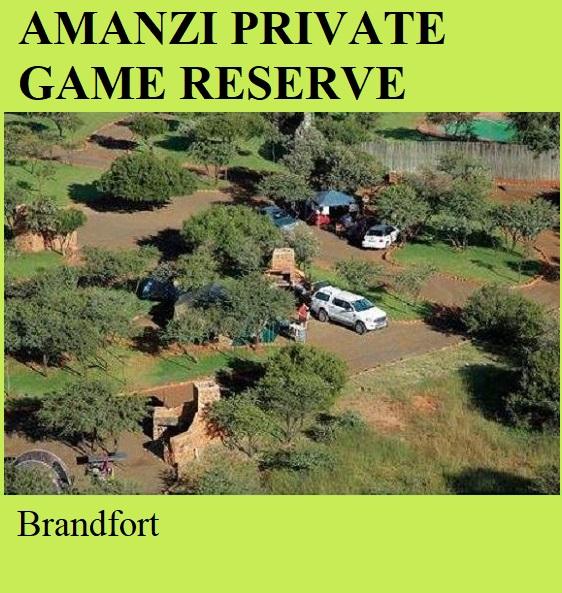 Amanzi Private Game Reserve - Brandfort