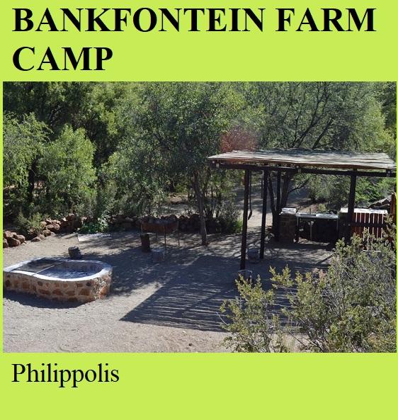 Bankfontein Farm Camp - Philipolis
